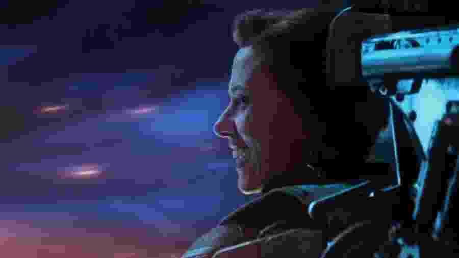 """Viúva Negra (Scarlett Johansson) em cena de """"Vingadores: Ultimato"""" - Reprodução"""