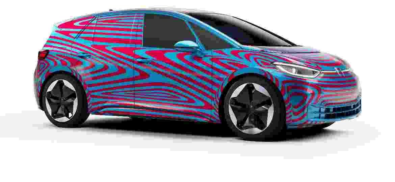 Volkswagen ID.3 será uma das estrelas do maior Salão do mundo - Divulgação