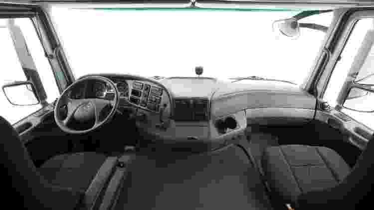 Cabine de luxo: interior do 2651 tem muita tecnologia - Divulgação
