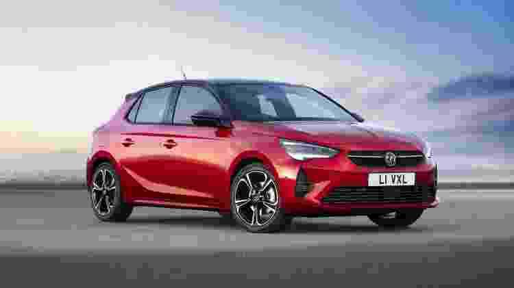 Nova geração do Opel/Vauxhall Corsa traz a mesma base estrutural e mecânica do Peugeot 208 europeu - Divulgação/Vauxhall