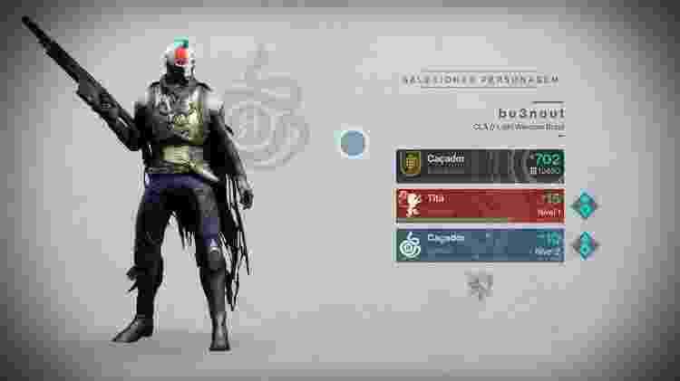 Destiny 2 - Personagens - Reprodução - Reprodução