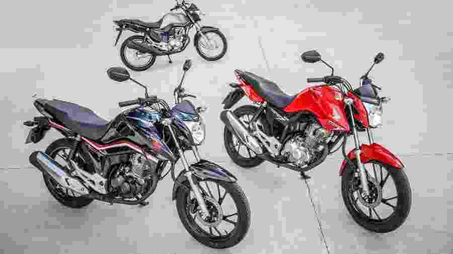 Uma a cada quatro motos comercializadas na plataforma de vendas online OLX é do popular modelo Honda - Divulgação