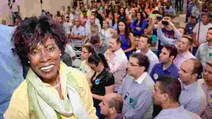 Cidinha, candidata ao Senado pelo MDB, em 2018 - Arquivo pessoal