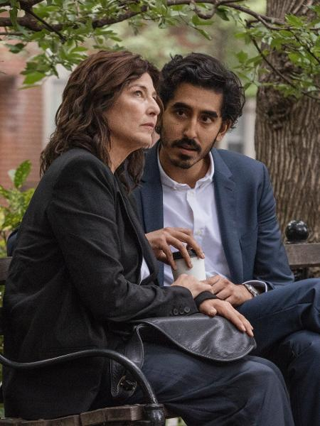 Catherine Kneer e Dev Patel em cena de Modern Love - Giovanni Rufino/Amazon
