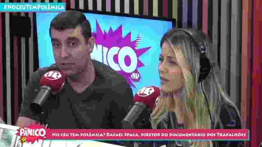 Rafael Spaca concede entrevista para o Pânico, da rádio Jovem Pan - Reprodução/Youtube