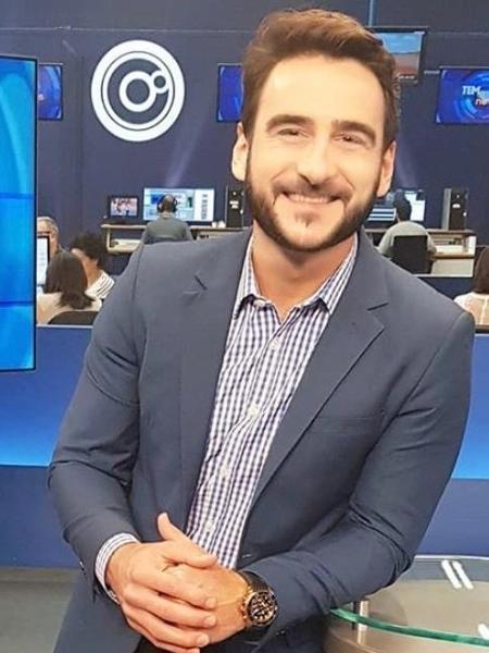 Evandro Cini, nova contratação da CNN Brasil - Instagram