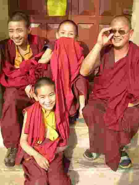 A beleza dos monges no Nepal - Marcel Vincenti/Arquivo pessoal - Marcel Vincenti/Arquivo pessoal