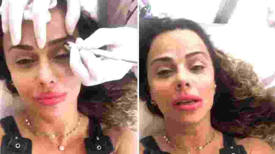 Viviane Araújo faz micropigmentação das sobrancelhas - Reprodução/ Instagram