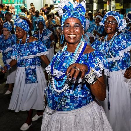 Tradicional Ala das Baianas da Beija-Flor - Reprodução / Instagram @beijafloroficial