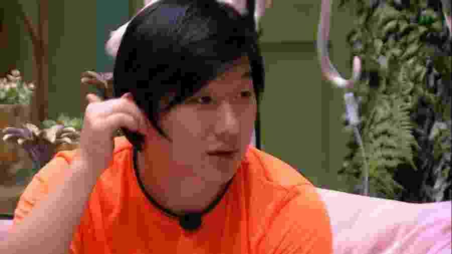 BBB 20 - Pyong conversa com brothers - Reprodução/Globoplay