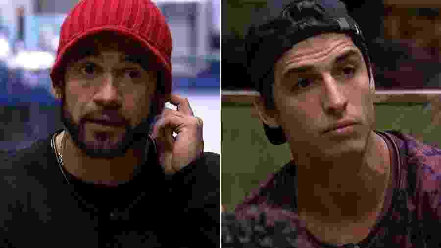 Hadson e Felipe estão no terceiro paredão - Reprodução/Globoplay