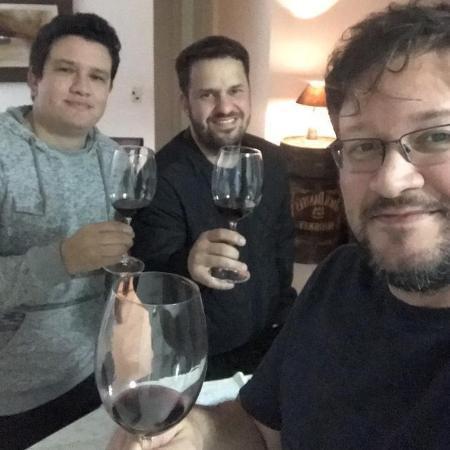André Piunti, Miguel Cariello e Rafael Curvina  - Arquivo pessoal