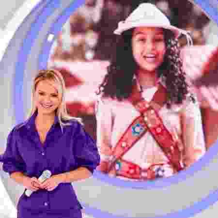 Eliana em momento do programa deste domingo  - Divulgação