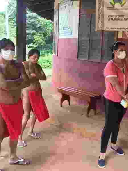 Atendimento em Distrito Sanitário Especial Indígena (Dsei) na região do Oiapoque - Reprodução/Dsei - Reprodução/Dsei