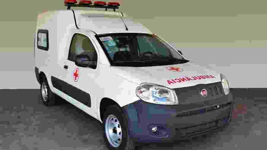 Fiorino Ambulância - Divulgação