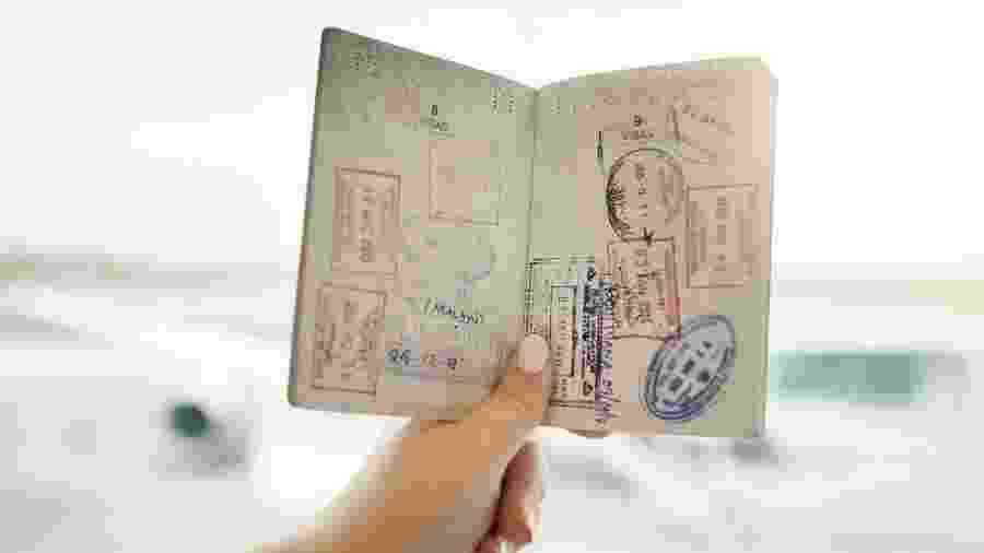 Passaporte emitido no Japão possibilita a entrada em 191 países ao redor do mundo - Getty Images/iStockphoto