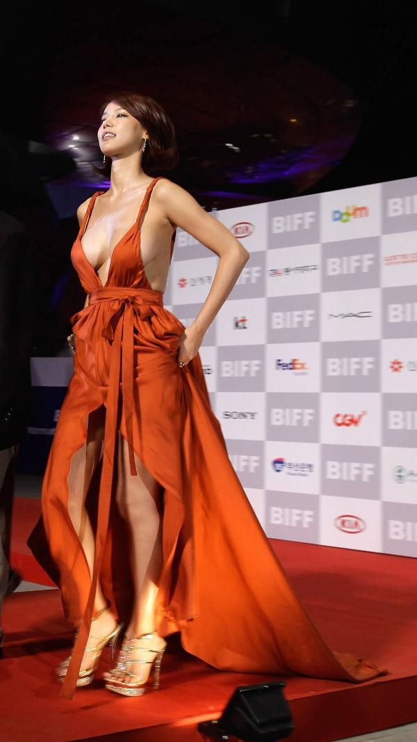 Atriz Oh In-hye no Festival Internacional de Cinema de Busan em 2011