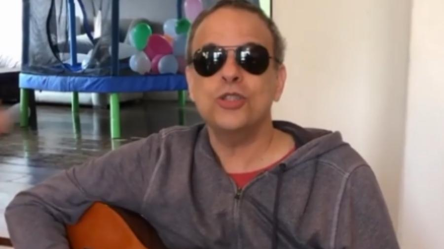 O produtor musical Dudu Braga, filho de Roberto Carlos - Reprodução/Instagram