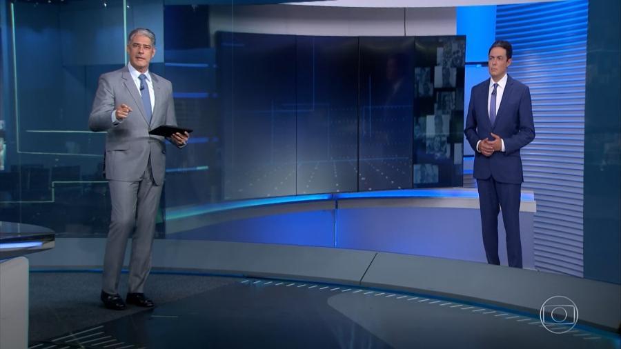 William Bonner no Jornal Nacional - Reprodução/GloboPlay