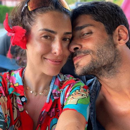 Fernanda Paes Leme assumiu namoro com Victor Sampaio no último final de semana - Reprodução/Instagram