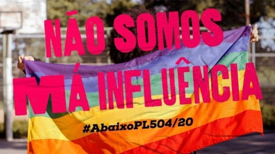 E quem não bebe do teu chá de revelação? #NãoàPL504 - Divulgação/PSOL