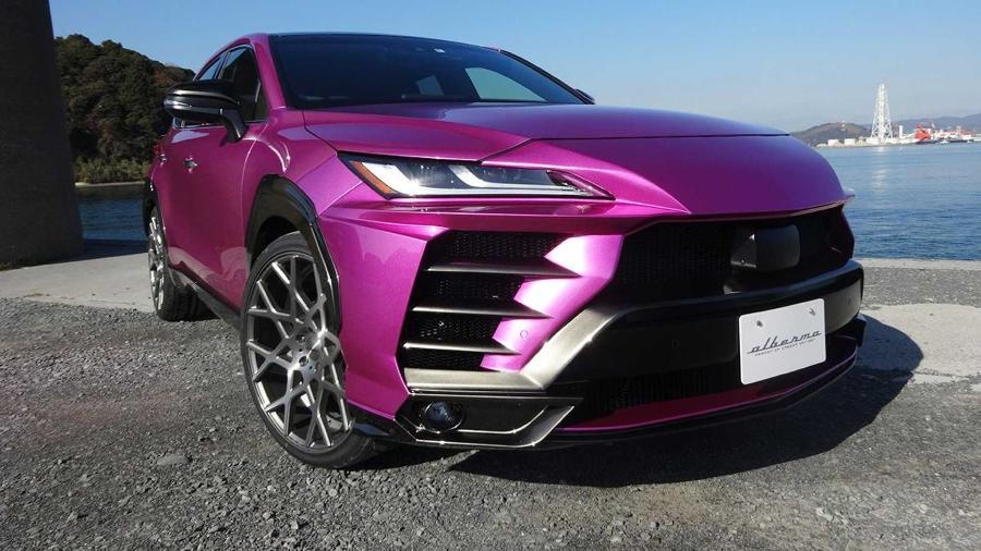 Toyota Venza vira Lamborghini Urus com kit estético - Divulgação