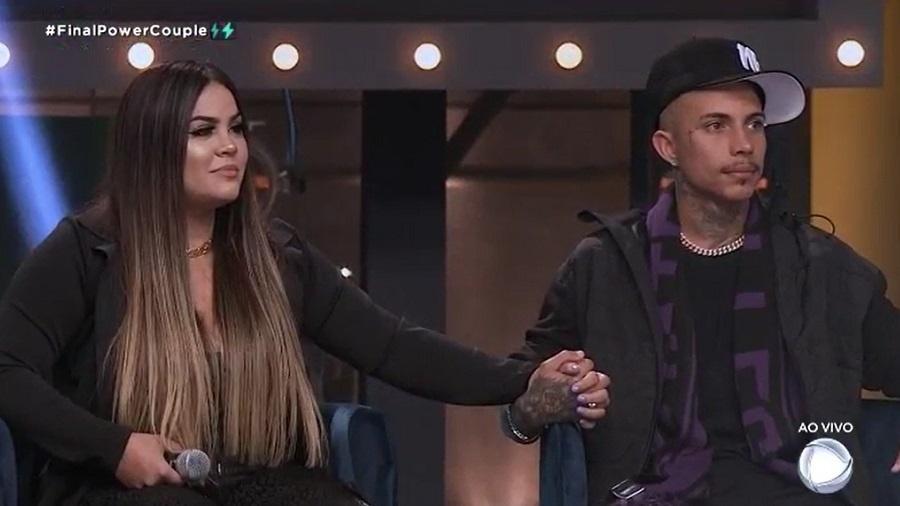 Power Couple: Mari e Matheus vencem a quinta temporada do reality - Reprodução/RecordTV