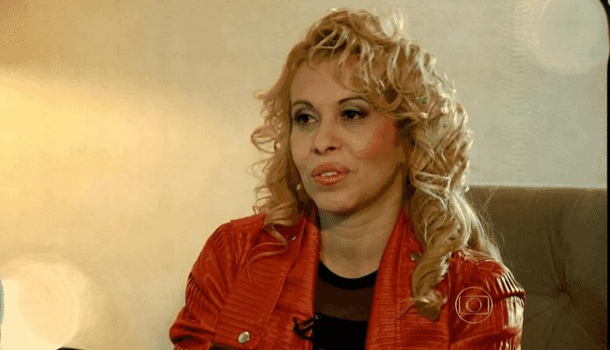 """1.nov.2015 - Joelma no """"Fantástico"""" - Reprodução/TV Globo"""