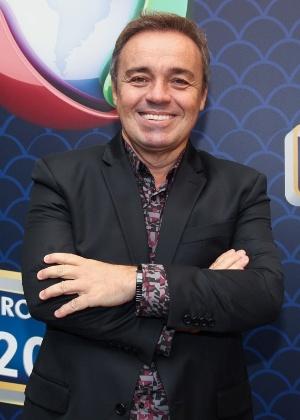 Gugu Liberato participa de evento que apresentou à imprensa a nova programação da Record - Manuela Scarpa/Brazil News