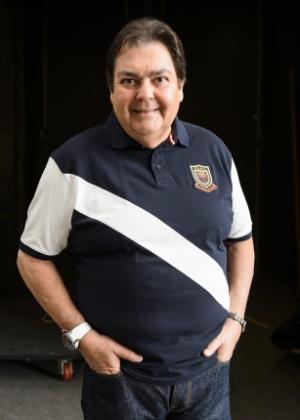 O apresentador Fausto Silva - Ramon Vasconcelos/Rede Globo