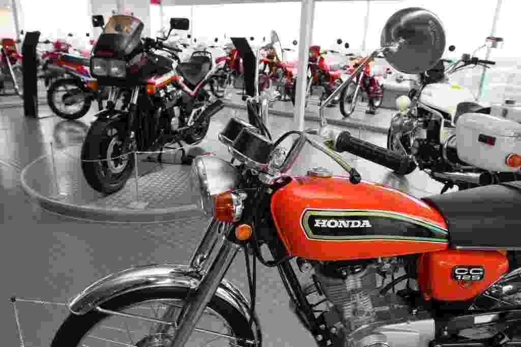 Honda CG 125 no Museu Honda - Pedro Amatuzzi/Código 19/23.04.2014