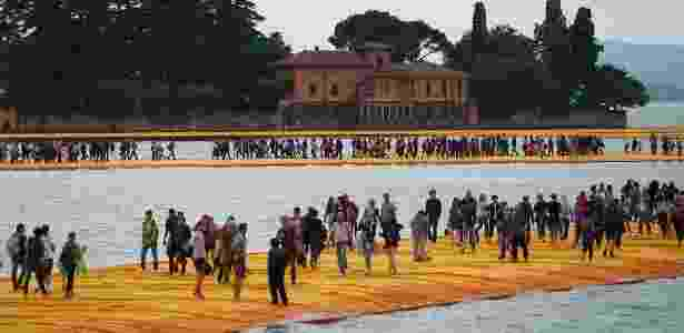 Wolfgang Volz/Floating Piers