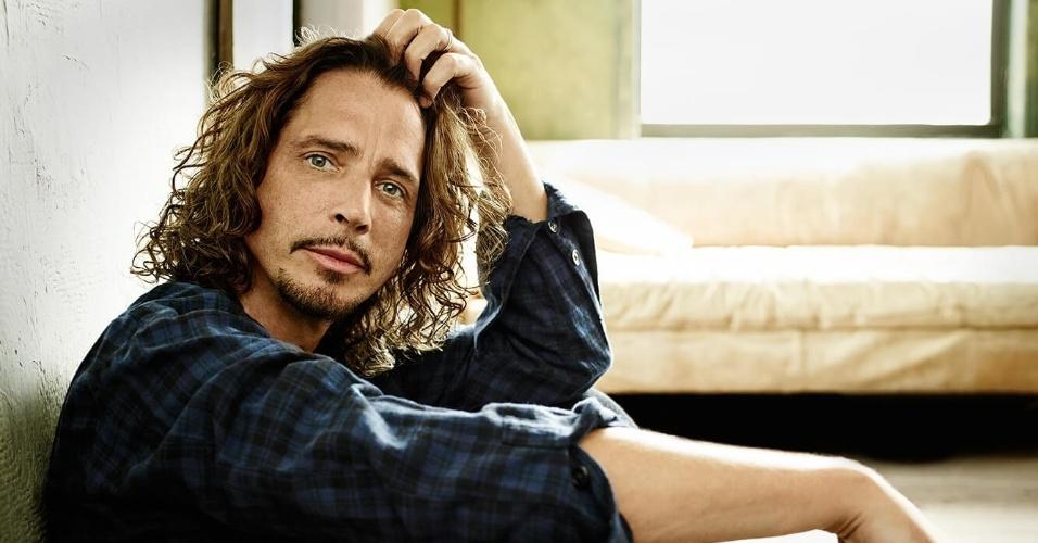 O cantor Chris Cornell, vocalista de bandas como Soundgarden, Audioslave e Temple Of The Dog