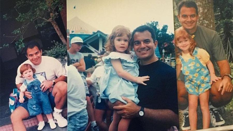 Marina Ruy Barbosa posta fotos de quando era criança acompanhada do pai - Reprodução/Instagram