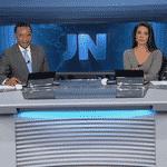 Carla Vilhena -  Jornal Nacional - Reprodução/TV Globo