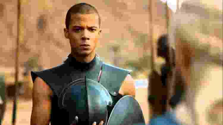 """Jacob Anderson é o Verme Cinzento em """"Game of Thrones"""" - Divulgação - Divulgação"""