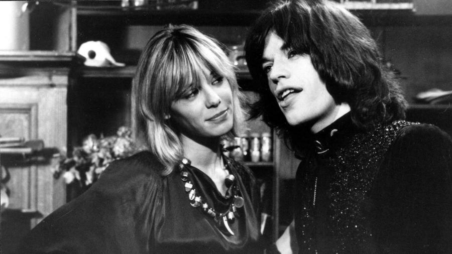 Anita Pallenberg e Mick Jagger - Reprodução