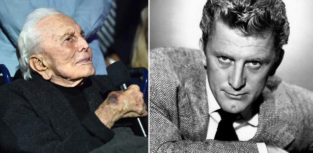 """Kirk Douglas: O centenário ator agora e na época de """"Glória Feito de Sangue"""" (1957) aos 40"""