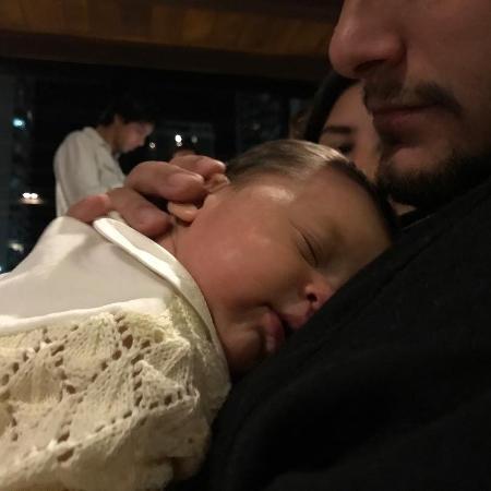 Bruno Gissoni com a filha, Madalena - Reprodução/Instagram