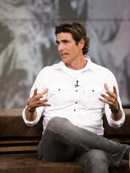 """Reynaldo Gianecchini no """"Conversa com Bial"""" - Reprodução/Globo"""