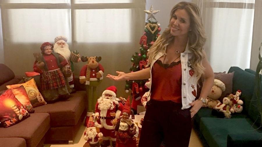 Renata Banhara abre a casa e mostra decoração natalina - Renato Cipriano / Divulgação