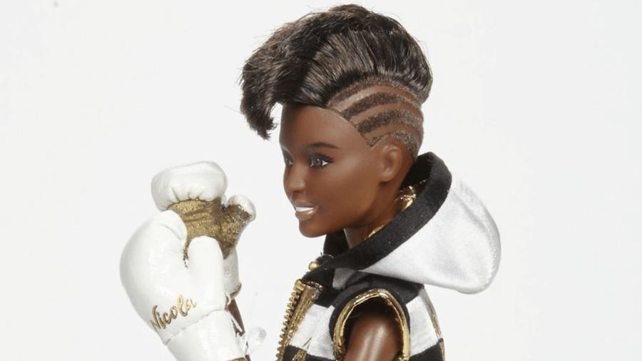 Barbie boxeadora baseada na campeã olímpica Nicola Adams - Reprodução