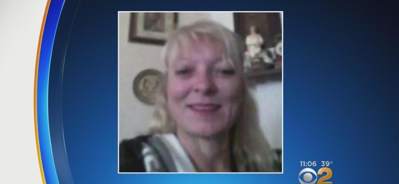 Reprodução de imagem da vítima, Elaine Herzberg, feita pela rede de TV americana CBS - Reprodução/CBS