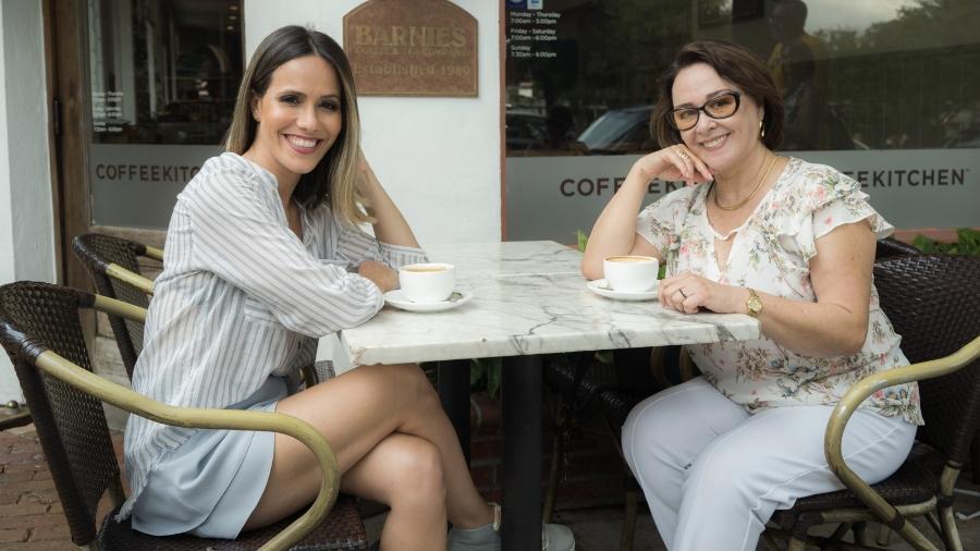 Fernanda Pontes e Nívea Maria em Orlando - Divulgação / Globo