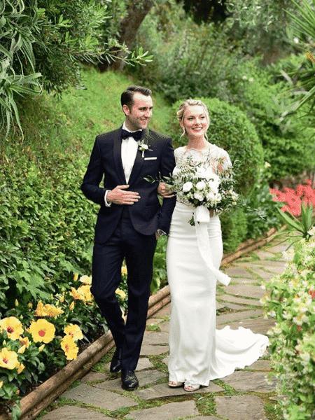 Matthew Lewis e a mulher, Angela Jones - Reprodução/Instagram