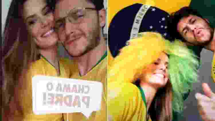 Camila Queiroz e Klebber Toledo - Reprodução/Instagram - Reprodução/Instagram