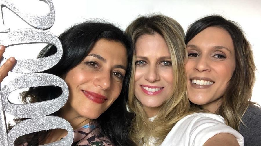 Marina Person, Didi Wagner e Sarah Oliveira posam juntas - Reprodução/Instagram