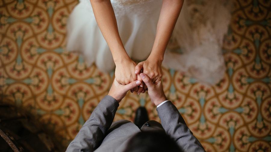 """No relato, a noiva diz que o relacionamento é """"perfeito"""" e que """"não poderia desejar mais nada"""" - Getty Images"""
