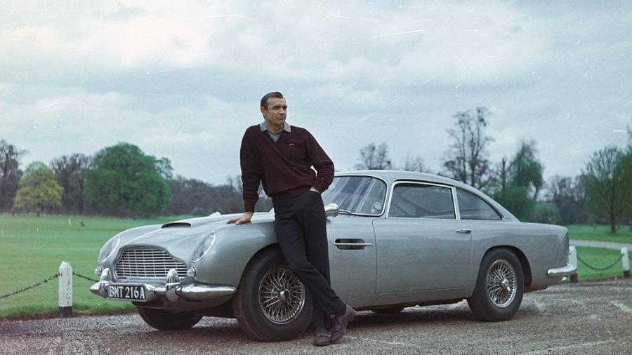"""Sean Connery em """"007 contra Goldfinger"""" (1964) - Divulgação"""