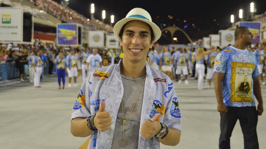 Gabriel David, conselheiro da Beija-Flor - Eduardo Hollanda/Divulgação